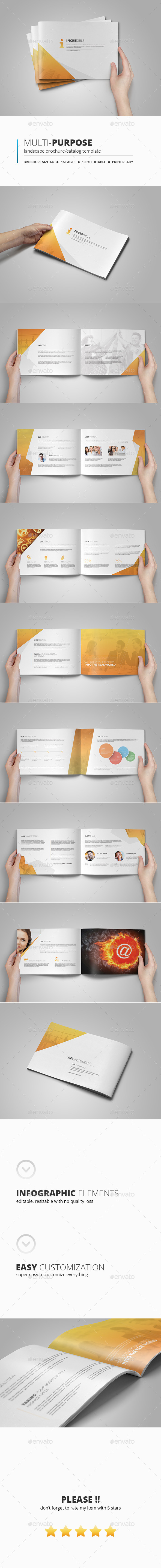 GraphicRiver Multipurpose Business Brochure Template 11005124