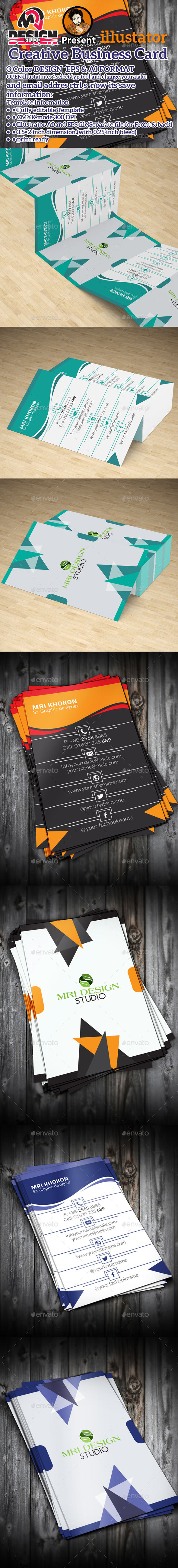 GraphicRiver Creative Business Card 11005269