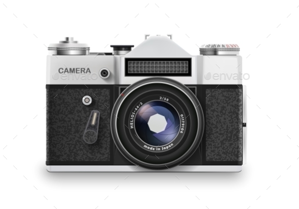 GraphicRiver Old Photo Camera 11005499