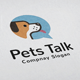Pets Talk Logo - GraphicRiver Item for Sale
