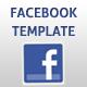 Facebook Template v1 - ActiveDen Item for Sale