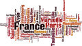 Cities in France Word Cloud Concept - PhotoDune Item for Sale