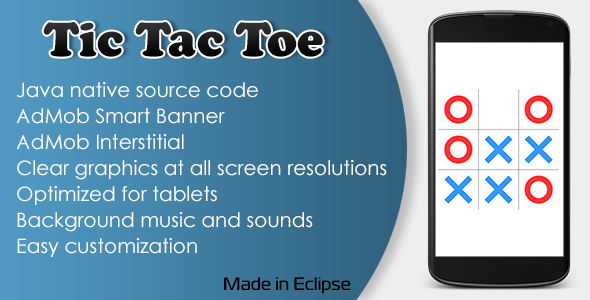 CodeCanyon Tic Tac Toe Game with AdMob 11006264