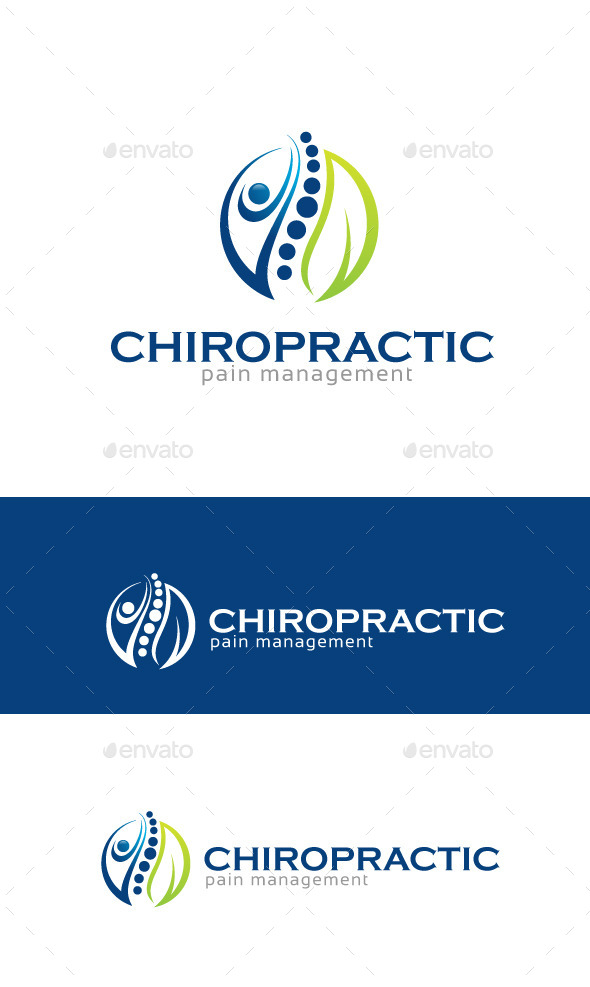 GraphicRiver Chiropractic Logo Template 11006398