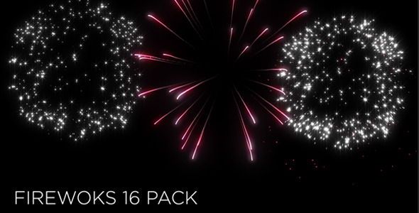 VideoHive Fireworks 16 Pack 11006426