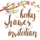 Baby Shower Invitation Package - GraphicRiver Item for Sale