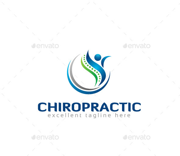 GraphicRiver Chiropractic Logo Template 11006571