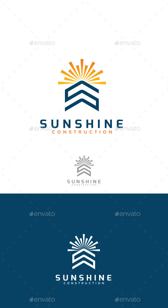 Sunshine construction real estate development graphicriver for Sunshine construction