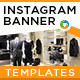 Fashion Instagram Banners - 10 Designs - GraphicRiver Item for Sale