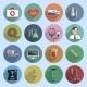 Multicolored Medicine Icons - GraphicRiver Item for Sale