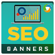 SEO Marketing Banners - GraphicRiver Item for Sale