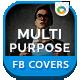 Multipurpose Facebook Covers - 3 Designs