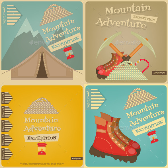 GraphicRiver Mountain Climbing 11007297