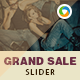 Grand Sale Slider - GraphicRiver Item for Sale