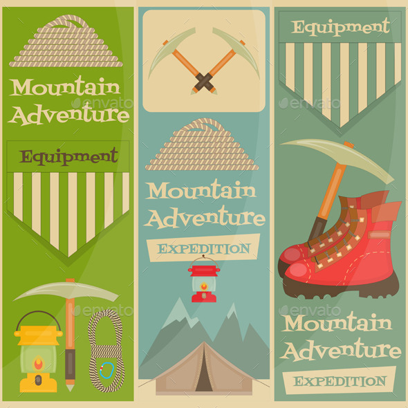 GraphicRiver Mountain Climbing 11007310