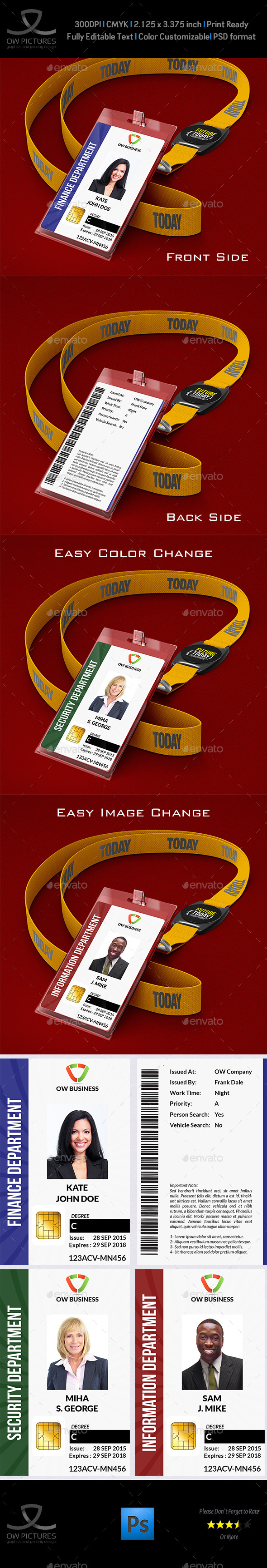 GraphicRiver Multipurpose Business ID Card 11007350