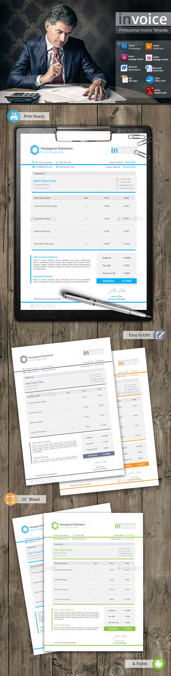 GraphicRiver invoice 11007712