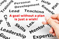A goal without a plan is just a wish Concept - PhotoDune Item for Sale