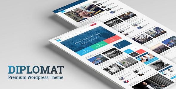 ThemeForest Diplomat Responsive Politician WordPress Theme 11007888