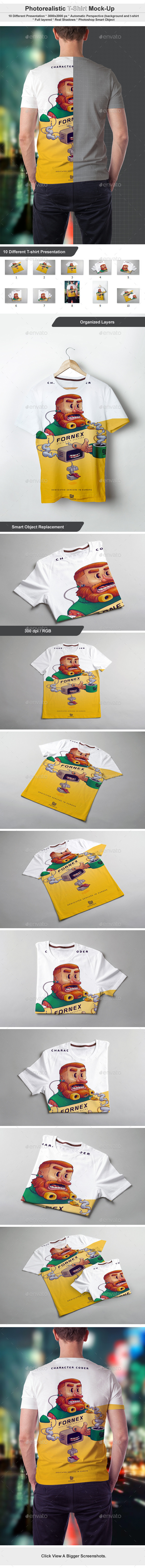 GraphicRiver T-Shirt Mock-up 11007894