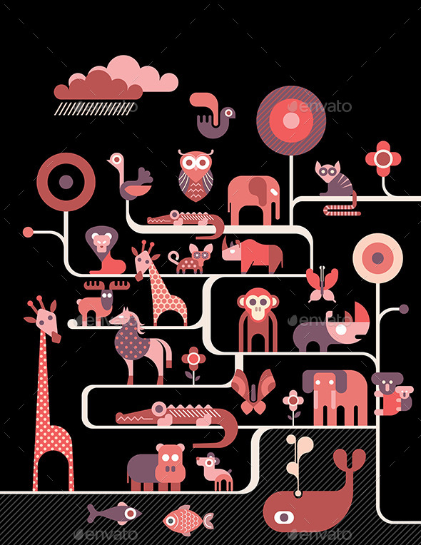 GraphicRiver Animals 11008247