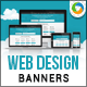 Web Design Banners - GraphicRiver Item for Sale