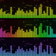 Audio Equalizer VJ Neon Light Music Spectrum - VideoHive Item for Sale