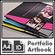 Photofolio & Artbook Template - A4 Portrait - GraphicRiver Item for Sale