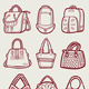 71 Bag Icons - GraphicRiver Item for Sale