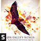 On Eagle's Wings Church Flyer - GraphicRiver Item for Sale