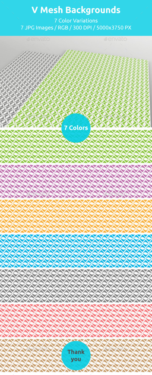 GraphicRiver V Mesh Backgrounds 11009135