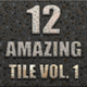 12 Amazing Tile Style Vol.1 - GraphicRiver Item for Sale