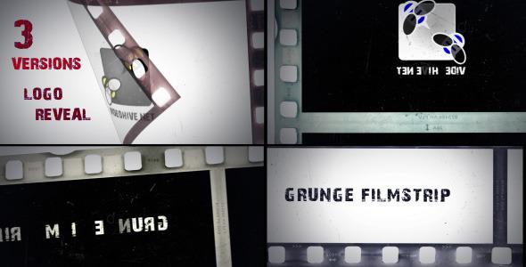 Grunge Filmstrip 11009178  - Videohive shareDAE
