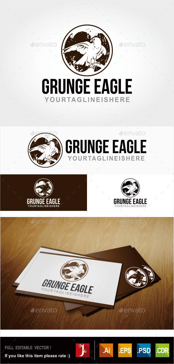GraphicRiver GRUNGE EAGLE 11009817