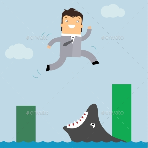 GraphicRiver Business in Danger 11009988