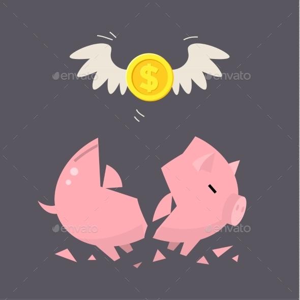 GraphicRiver Piggy Bank Concept 11009997
