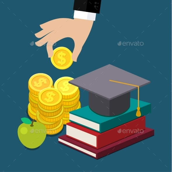 GraphicRiver Invest in Education Concept 11010012