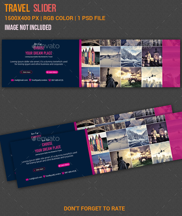 GraphicRiver Travel Slider 11010163