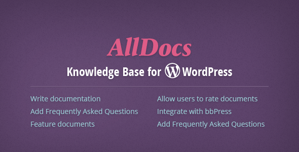 CodeCanyon AllDocs Knowledge Base for WordPress 10988548