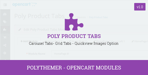 CodeCanyon Poly Product Tabs Opencart 2 Module 10967829