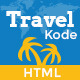KodeTravel & Tourism HTML5 Template - Travel Retail