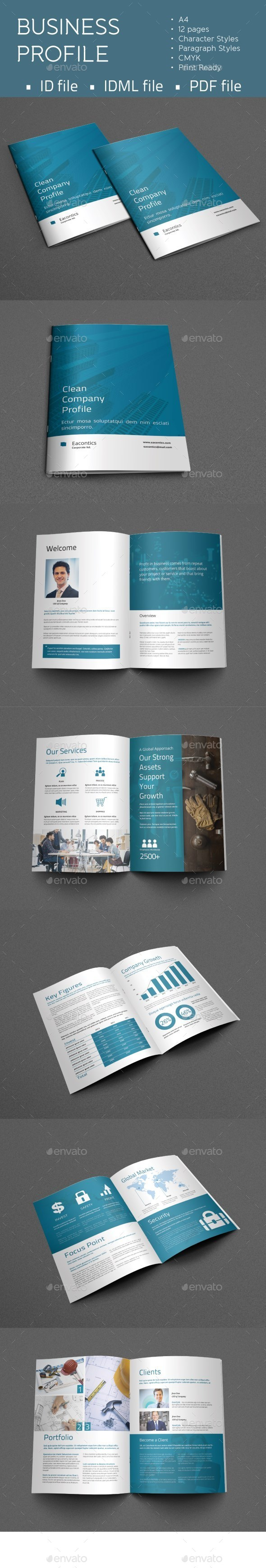 GraphicRiver Business Profile 11010269
