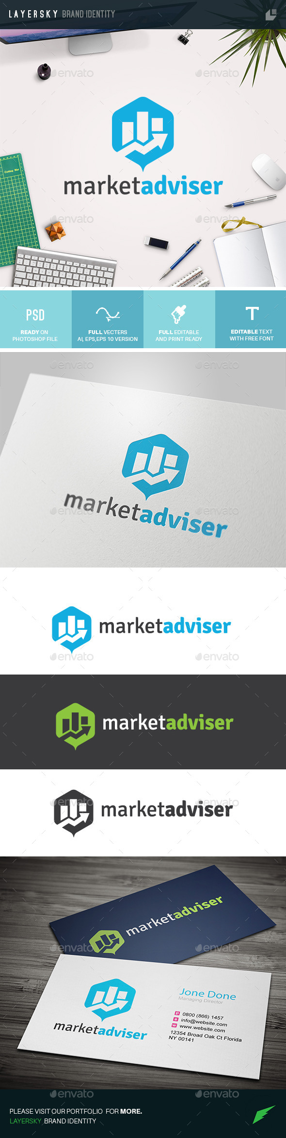 GraphicRiver Market Advisor 11010484