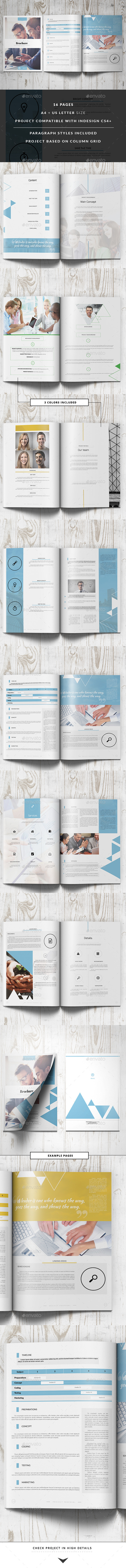 GraphicRiver Project Proposal Business Template 11010516