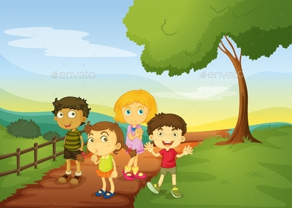 GraphicRiver Children 11010529