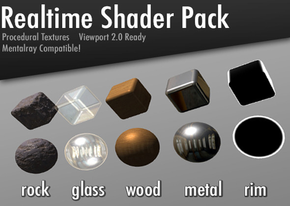 3DOcean Realtime Shader Pack 11010588