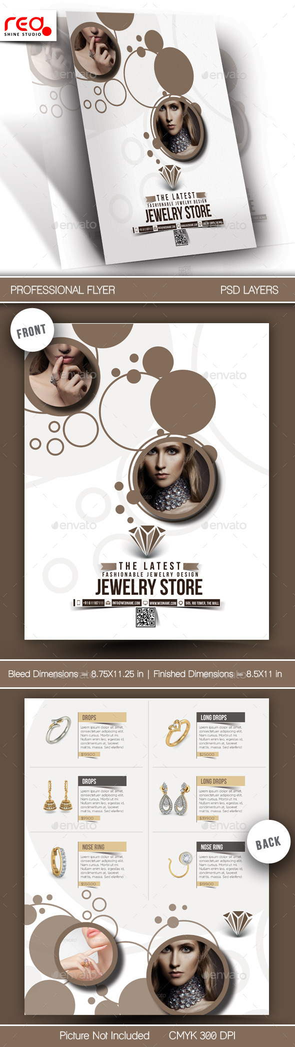 GraphicRiver Jewelry Store Flyer & Poster Template 11010688