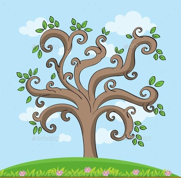 GraphicRiver Tree 11011212