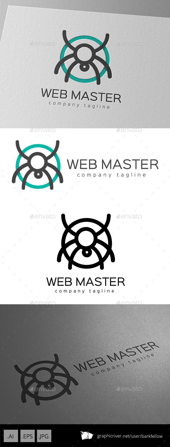 GraphicRiver Web Master Logo Design 11011436