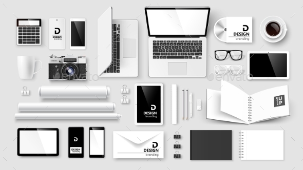 GraphicRiver Mock Up Set of Corporate Identity and Branding 11011452